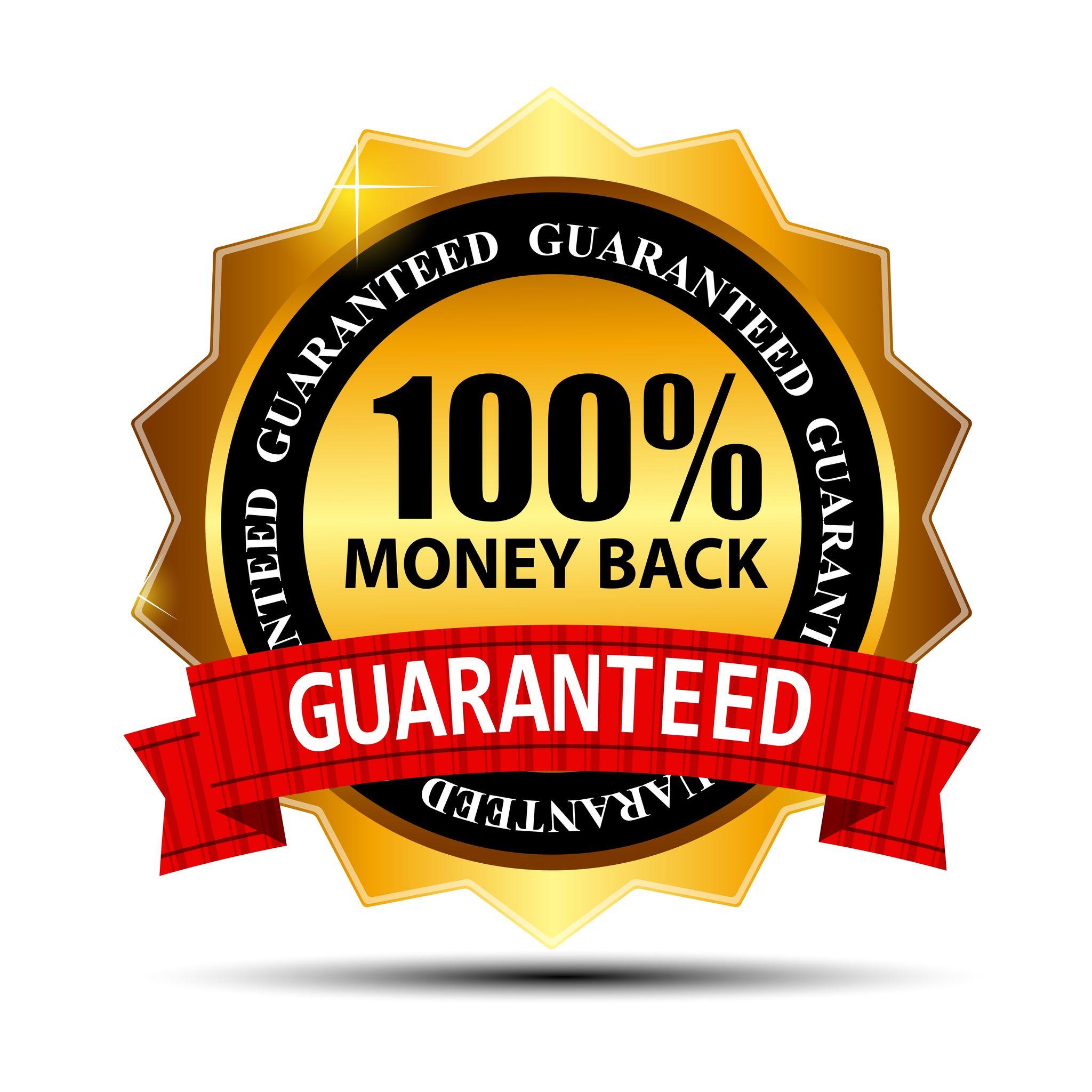 10 Day Money Back Guarantee