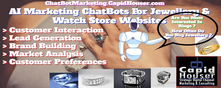 Jewellery AI ChatBot Marketing